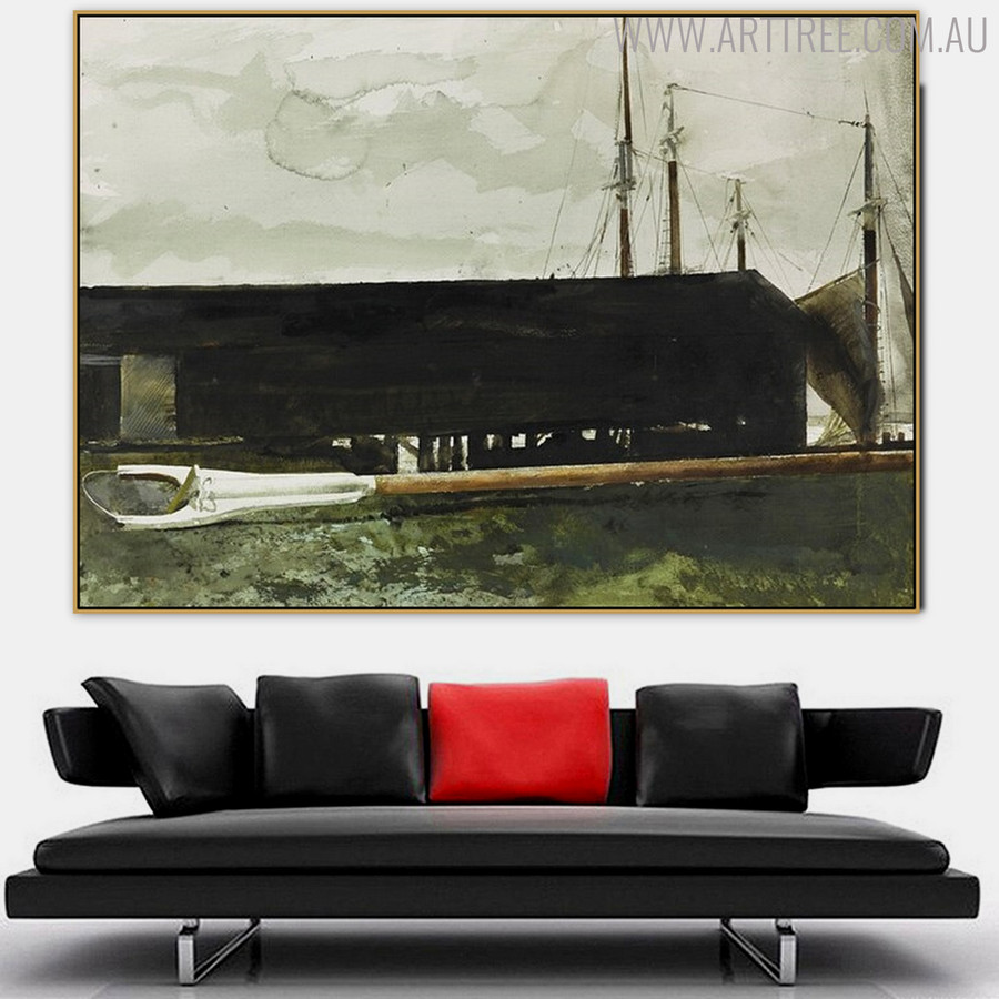 Main Gaff Famous Artists Still Life Landscape Scandinavian Painting Print for Living Room Wall Decor