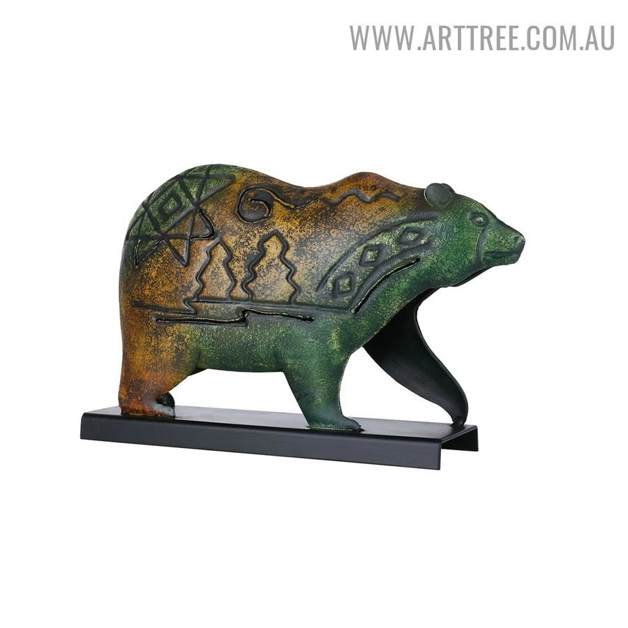 Bear Animal Sculpture