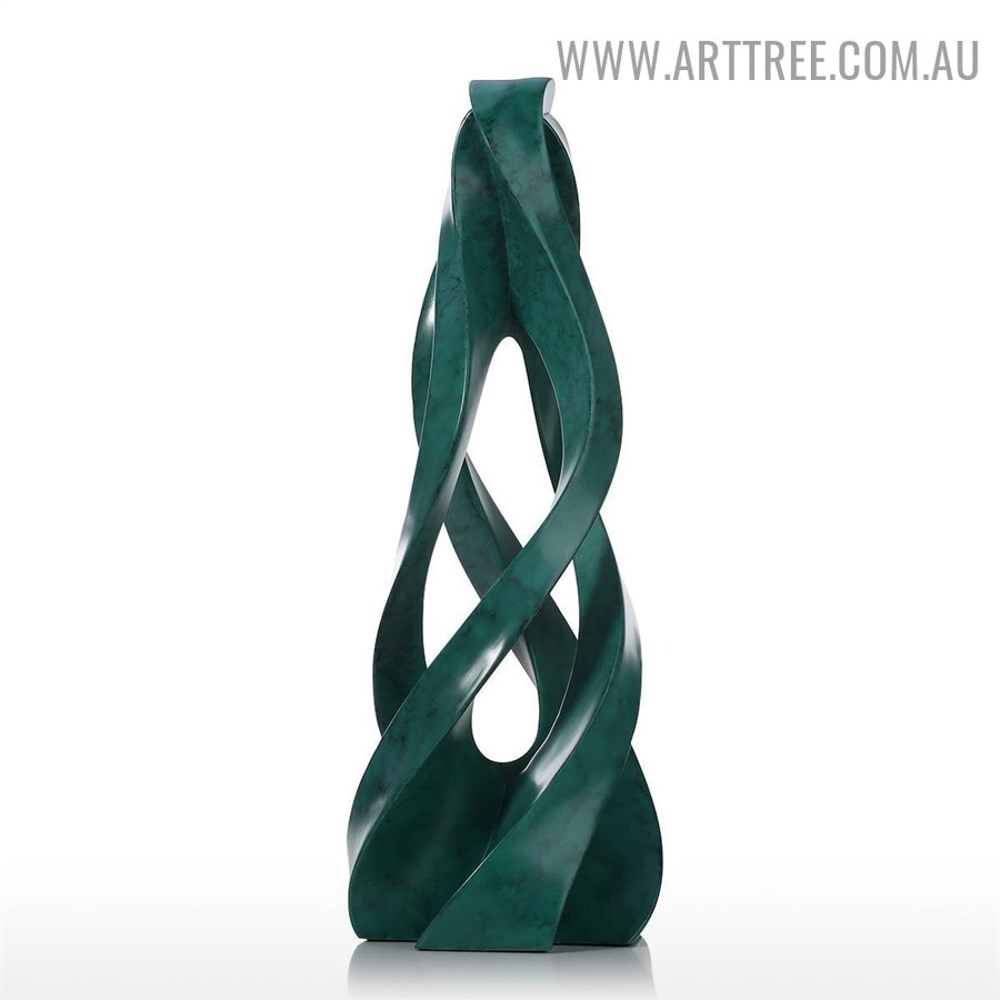 Gathering Together Abstract Resin Statue