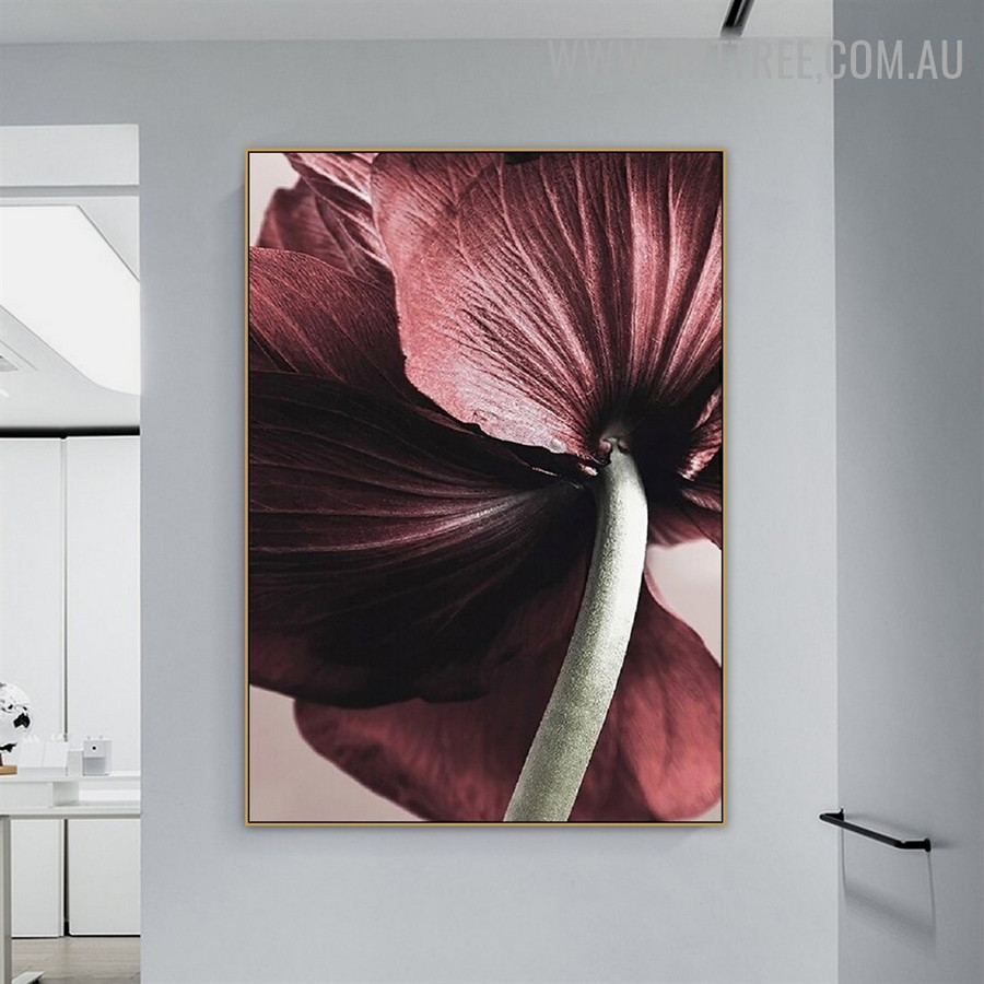 Colorful Daffodil Abstract Floral Modern Wall Painting Picture Canvas Print for Room Adornment