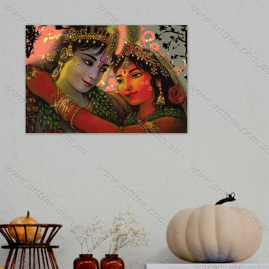 Radha Krishna Print