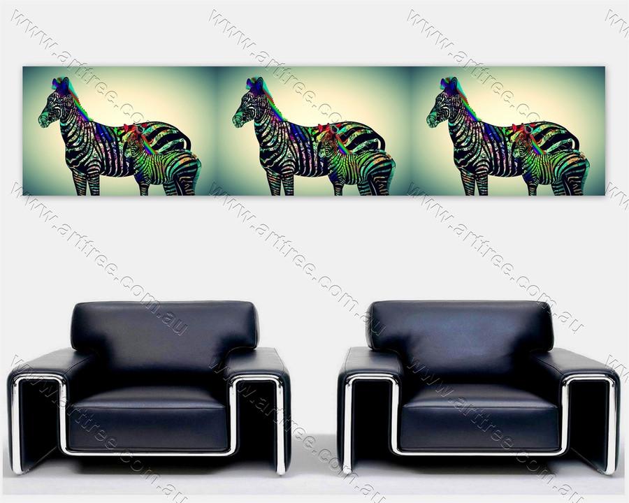 Zebra Print Collage