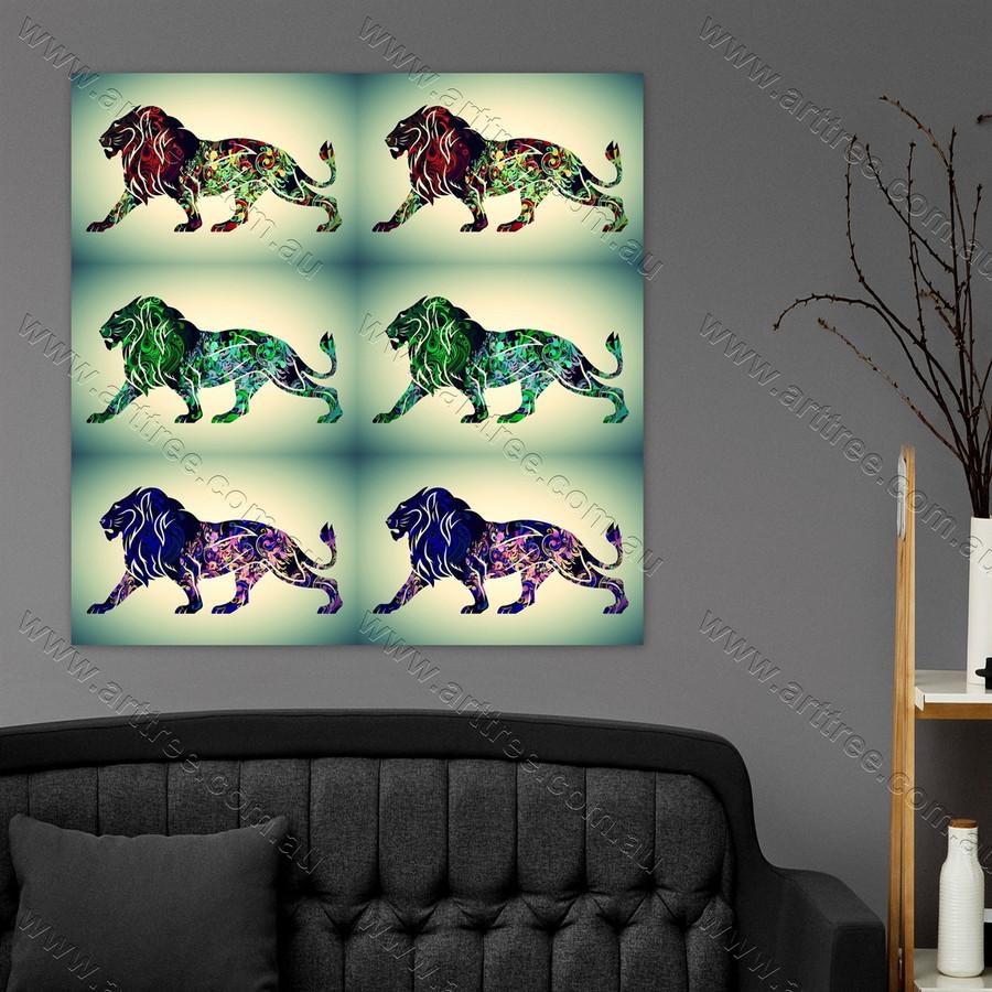 Lion Animal Pop Art