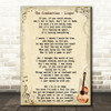 The Cranberries Linger Song Lyric Vintage Quote Print
