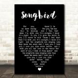 Songbird Fleetwood Mac Black Heart Quote Song Lyric Print