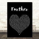 Don Broco Further Black Heart Song Lyric Quote Print
