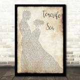 Ed Sheeran Tenerife Sea Song Lyric Man Lady Dancing Quote Print