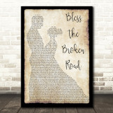 Rascal Flatts Bless The Broken Road Song Lyric Man Lady Dancing Quote Print