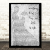 Elton John Something About The Way You Look Tonight Dancing Grey Song Print