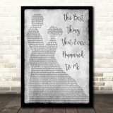 Gladys Knight The Best Thing That Ever Happened To Me Dancing Grey Print