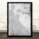 Lukas Graham Love Someone Man Lady Dancing Grey Song Lyric Print