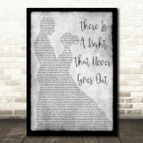 The Smiths There Is A Light That Never Goes Out Dancing Grey Song Lyric Print