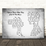 Elton John I Guess That's Why They Call It The Blues Man Lady Couple Grey Song Lyric Quote Music Print