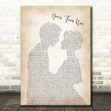 Dr Hook Years From Now Man Lady Bride Groom Wedding Song Lyric Quote Music Print