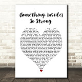 Labi Siffre (Something Inside) So Strong White Heart Song Lyric Quote Music Print
