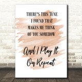 Watercolour Do I Wanna Know Arctic Monkeys Black White Song Lyric Quote Print
