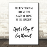 Do I Wanna Know Arctic Monkeys Black White Song Lyric Quote Print
