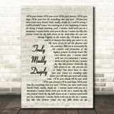 Truly Madly Deeply Savage Garden Song Lyric Vintage Script Quote Print