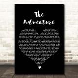 Angels & Airwaves The Adventure Black Heart Song Lyric Print