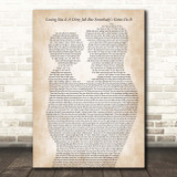 Bonnie Tyler Loving You Is A Dirty Job But Somebody's Gotta Do It Father & Child Song Lyric Print