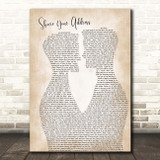 Ben Platt Share Your Address Two Men Gay Couple Wedding Song Lyric Print