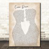 T. Rex Cosmic dancer Two Men Gay Couple Wedding Song Lyric Music Art Print