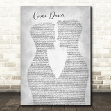 T. Rex Cosmic dancer Two Men Gay Couple Wedding Grey Song Lyric Music Art Print