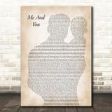 Jake Bugg Me And You Father & Baby Song Lyric Art Print