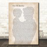 Eva Cassidy Over The Rainbow Father & Child Song Lyric Art Print