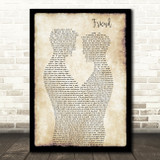 Andy Bell Friend Gay Couple Two Men Dancing Song Lyric Art Print