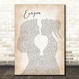 Westlife Evergreen Lesbian Women Gay Brides Couple Wedding Song Lyric Art Print