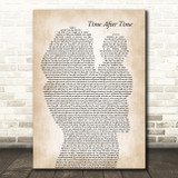 Cyndi Lauper Time After Time Mother & Baby Song Lyric Art Print