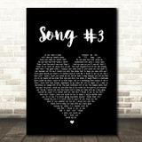 Stone Sour Song 3 Black Heart Song Lyric Quote Print