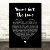 Candi Staton You've Got The Love Black Heart Song Lyric Quote Print