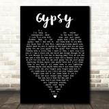 Gypsy Fleetwood Mac Black Heart Quote Song Lyric Print