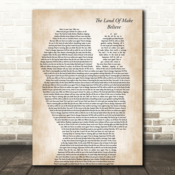 Buck Fizz The Land Of Make Believe Mother & Baby Song Lyric Art Print