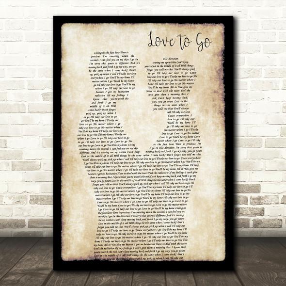 Lost Frequencies, Zonderling & Kelvin Jones Love To Go Gay Couple Two Men Dancing Wall Art Song Lyric Print