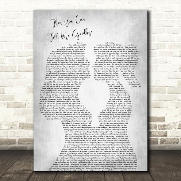 Joss Stone Then You Can Tell Me Goodbye Lesbian Women Gay Brides Couple Wedding Grey Song Lyric Print