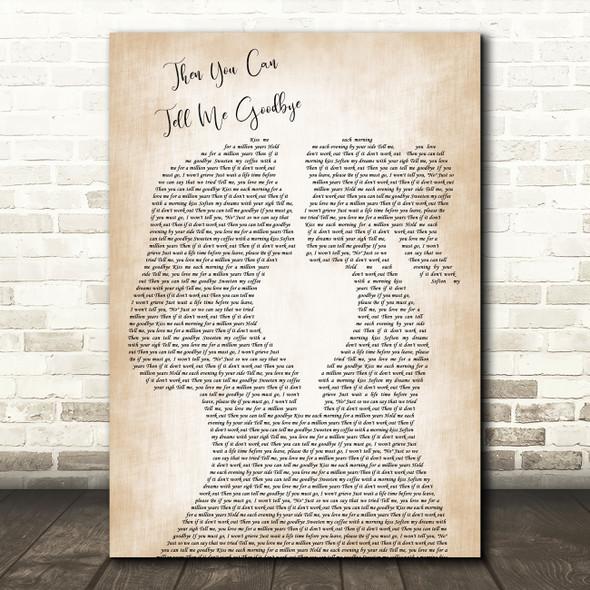 Joss Stone Then You Can Tell Me Goodbye Lesbian Women Gay Brides Couple Wedding Song Lyric Print
