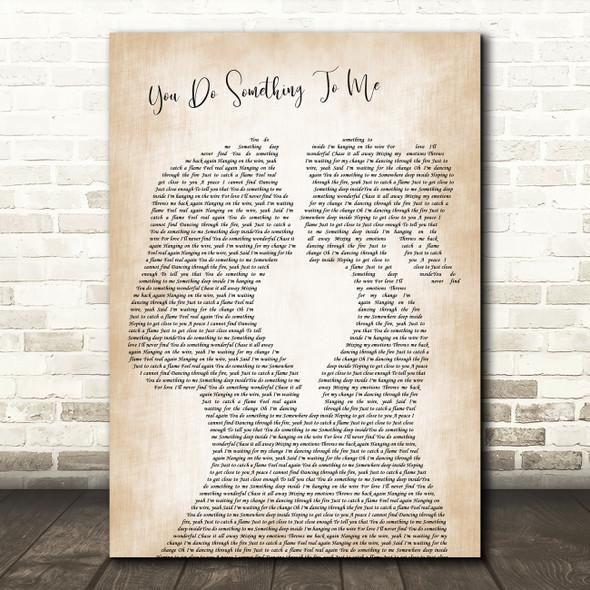 Paul Weller You Do Something To Me Lesbian Women Gay Brides Couple Wedding Song Lyric Print