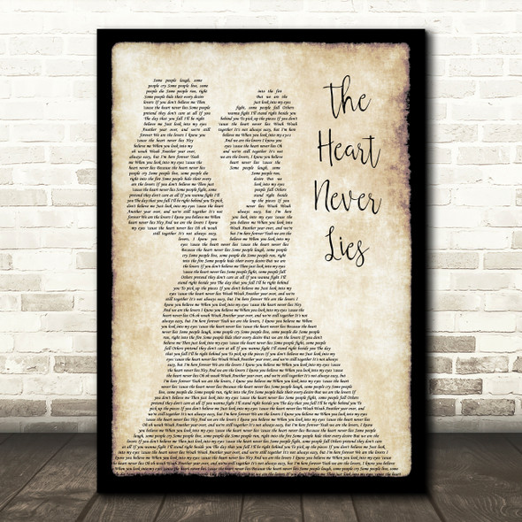 McFly The Heart Never Lies Lesbian Couple Two Ladies Dancing Wall Art Song Lyric Print