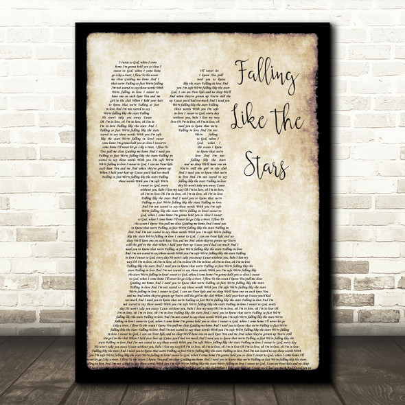 James Arthur Falling Like The Stars Lesbian Couple Two Ladies Dancing Song Lyric Print