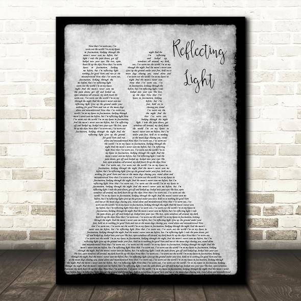Sam Phillips Reflecting Light Lesbian Couple Two Ladies Dancing Grey Gift Song Lyric Print