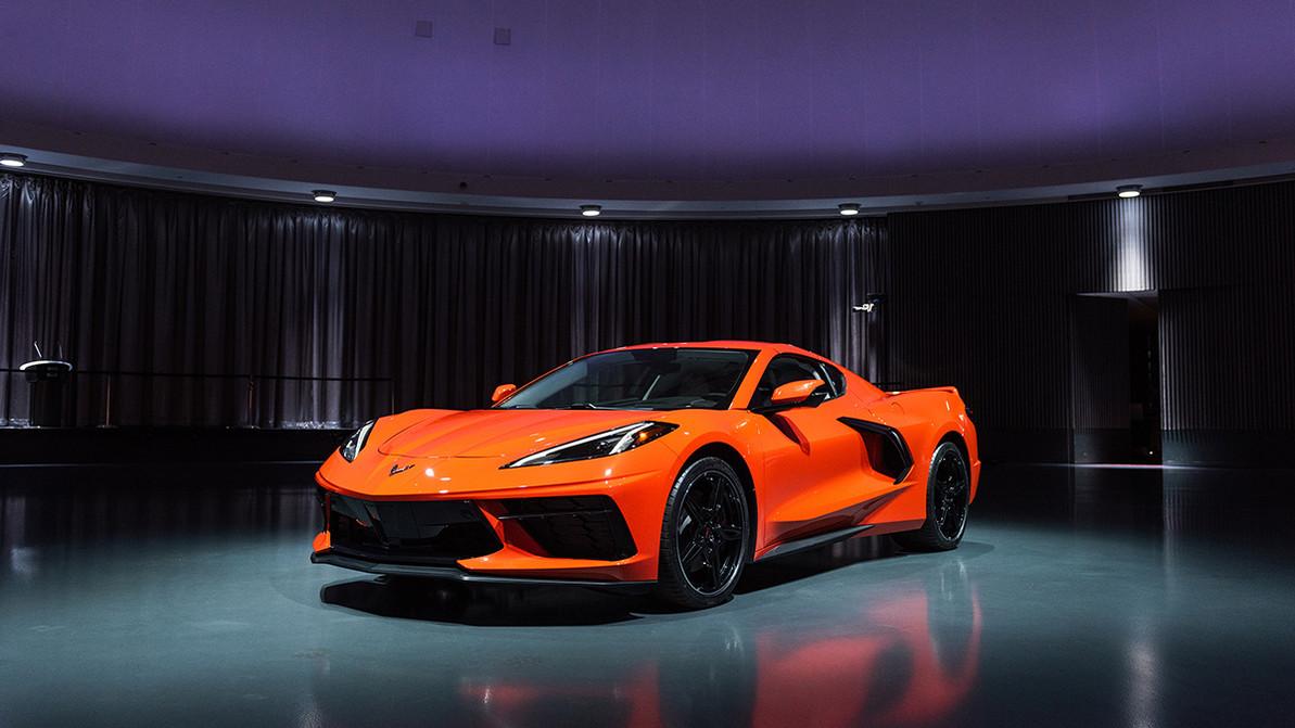 This is the 2020 midengine C8 Corvette