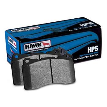 Hawk HPS HB247F575 street upgrade brake pads for Chevrolet Corvette C5 and C6 front