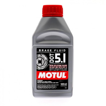Motul DOT5.1 high-performance brake fluid for Corvette including C5, C6 and C7