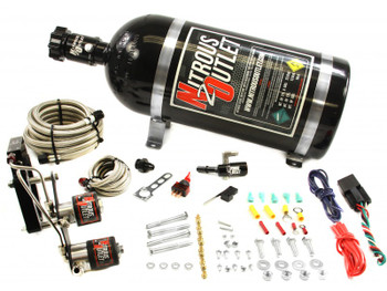 Corvette Z06 2015-up wet nitrous oxide kit from Nitrous Outlet and Vette Lab