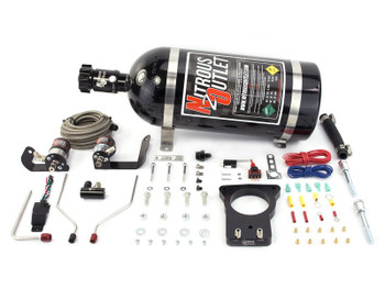 Corvette Nitrous plate kit from Nitrous Outlet and Vette Lab; C5 1997-2004 models with 78mm throttle body