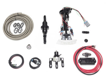 Fore Innovations C6 Dual Fuel Pump system configured for E85