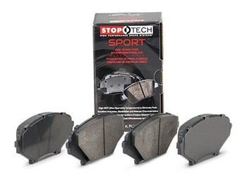 StopTech Sport 309.10010 2014-2019 Corvette C7 front brake pads for base Stingray JL9